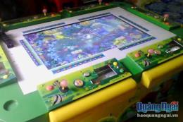 Triệt phá ổ cờ bạc trá hình trò chơi điện tử trong trung tâm thương mại