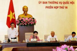 Phiên họp thứ 14 của Ủy ban Thường vụ Quốc hội khóa XIV: Môi trường cạnh tranh bình đẳng