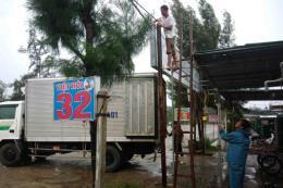 Ứng phó bão số 10: Nghệ An cho học sinh nghỉ học từ chiều 14/9
