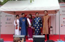 Đang diễn ra lễ hội Việt Nam lớn nhất tại Nhật Bản