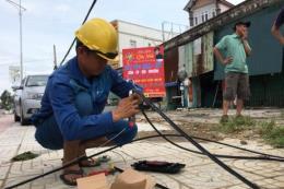 VNPT đảm bảo mạng lưới thông tin sau cơn bão số 10