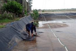 Người nuôi trồng thủy sản thiệt hại nặng sau bão số 10