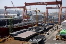 Ngành đóng tàu ở Hàn Quốc đang đối mặt với