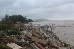 Thanh Hoá: Xây dựng tuyến kè chắn sóng tại Khu du lịch Hải Tiến