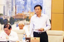 Ủy ban Thường vụ Quốc hội cho ý kiến việc chuẩn bị Kỳ họp thứ 4 của Quốc hội