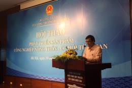 Sản phẩm công nghiệp nông thôn: Cơ hội từ ASEAN