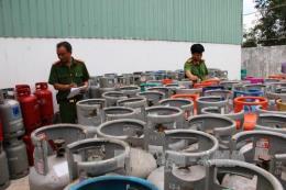 Phạt Công ty Thái Dương bị phạt 200 triệu đồng vì tái chế, sử dụng vỏ bình gas trái phép