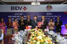 BIDV ký thỏa thuận hợp tác toàn diện với ngân hàng lớn nhất của Lào