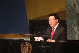 Các hoạt động của Phó Thủ tướng Phạm Bình Minh tại Khoá họp Đại hội đồng Liên hợp quốc