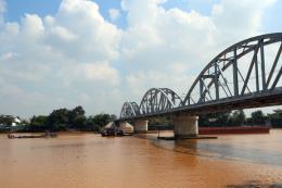 Nước sông Đồng Nai lên mức báo động II