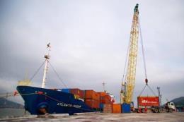Khai trương tuyến vận tải container Nghi Sơn-Bến Nghé
