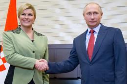 Tổng thống Putin: Nga và Croatia  còn nhiều tiềm năng hợp tác song phương