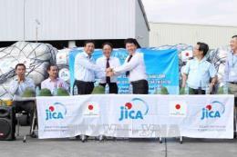 Tiếp nhận viện trợ của Nhật Bản cho các tỉnh bị thiệt hại bởi thiên tai