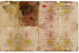 Lá thư cuối cùng viết trên con tàu Titanic được bán với mức giá kỷ lục