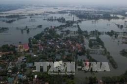 Sẽ hoàn thành cấp điện trở lại cho người dân bị ngập lụt tại Hà Nội trong hôm nay