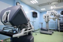 Bệnh viện Chợ Rẫy sử dụng robot trong phẫu thuật ung thư
