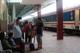 Sơ bộ thiệt hại của ngành đường sắt do ảnh hưởng của bão số 12