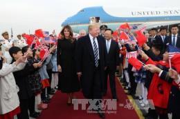 Tổng thống Mỹ Donald Trump hội đàm với người đứng đầu Trung Quốc Tập Cận Bình