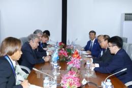 Hội nghị Cấp cao ASEAN lần thứ 31: Thủ tướng Nguyễn Xuân Phúc gặp Tổng Thư ký LHQ