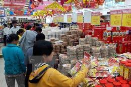 Giá cả hàng hóa ngày 30 Tết không biến động