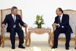 Thủ tướng Nguyễn Xuân Phúc tiếp Chủ tịch Tập đoàn truyền thông Nikkei, Nhật Bản