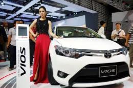 Bảng giá xe Toyota tháng 2/2018