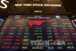 Hầu hết các thị trường chứng khoán Âu - Mỹ giảm điểm
