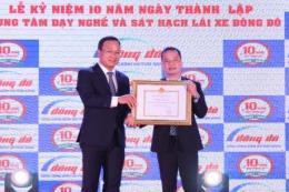 Bộ Giao thông Vận tải tặng bằng khen Trung tâm Dạy nghề Đông Đô nhân kỷ niệm 10 năm