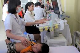 Hơn 3.500 trẻ em được khám sàng lọc bệnh tim bẩm sinh miễn phí