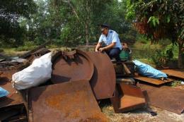 Kiên quyết chặn tình trạng nhập lậu phế liệu về Việt Nam