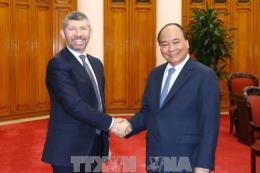 Thủ tướng Nguyễn Xuân Phúc tiếp Thứ trưởng Bộ Phát triển kinh tế Italia