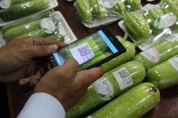 Nhiều sản phẩm nông nghiệp được dán tem truy xuất nguồn gốc