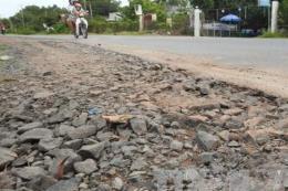 Hư hỏng nghiêm trọng, Tây Ninh đề nghị cải tạo Quốc lộ 22B