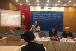 Doanh nghiệp hưởng lợi gì từ Hiệp định thương mại tự do ASEAN-Trung Quốc và Hồng Kông