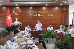 Hậu Giang hoãn các cuộc họp không cần thiết, tập trung phòng, chống bão số 16