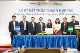 Bảo hiểm Bảo Việt và ngân hàng OCB hợp tác vì lợi ích khách hàng