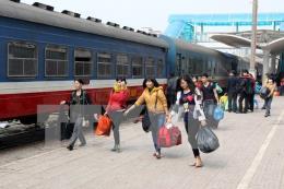 Đường sắt Việt Nam đưa vào khai thác 6 đoàn tàu mới từ 10/1/2018