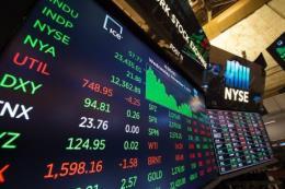 """Sắc xanh """"phủ sóng"""" thị trường chứng khoán Mỹ"""