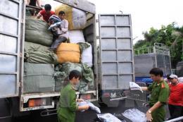 Phú Yên bắt giữ hàng chục tấn hàng lậu
