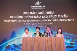 Đại học Mở Tp.Hồ Chí Minh công bố 9 ngành đào tạo trực tuyến