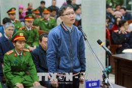 Bị cáo Trịnh Xuân Thanh không thừa nhận hành vi phạm tội