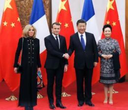 Tổng thống Macron hối thúc Trung Quốc, EU tránh bẫy chủ nghĩa bảo hộ