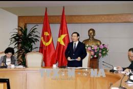Phó Thủ tướng Vương Đình Huệ: Chuyển mạnh sang hậu kiểm