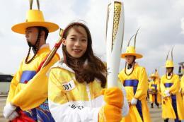 Hành trình vượt hơn 2.000 km của ngọn đuốc Olympic mùa Đông PyeongChang