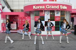 Tưng bừng lễ hội mua sắm cho du khách nước ngoài tại Hàn Quốc