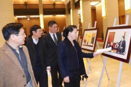 Chủ tịch Quốc hội Nguyễn Thị Kim Ngân dự tổng duyệt hoạt động của Hội nghị APPF-26