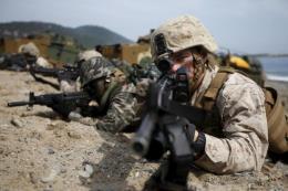 Quân đội Mỹ diễn tập kịch bản xung đột với Triều Tiên