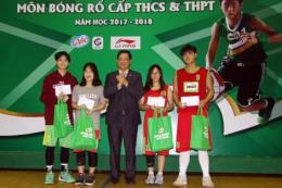 Bế mạc giải bóng rổ học sinh phổ thông Hà Nội năm học 2017-2018