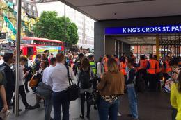 Anh phong tỏa gần nhà ga Kings Cross do phát hiện bưu kiện khả nghi