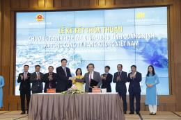 Vietnam Airlines và UBND tỉnh Quảng Ninh ký kết thỏa thuận hợp tác chiến lược